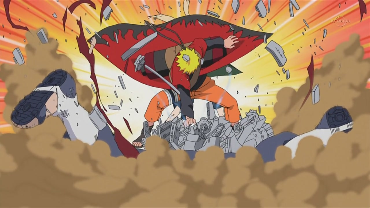 In what episode did naruto fight pain [Naruto Shippuden]