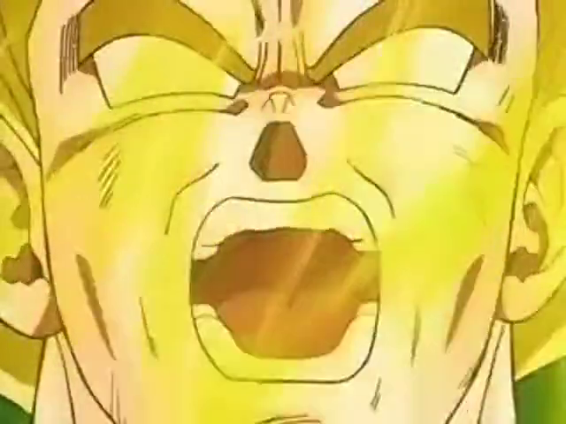 Goku Goes Super Saiyan For The First Time [Dragon Ball Z]