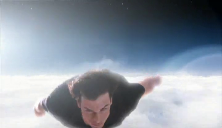 Kal-El flying