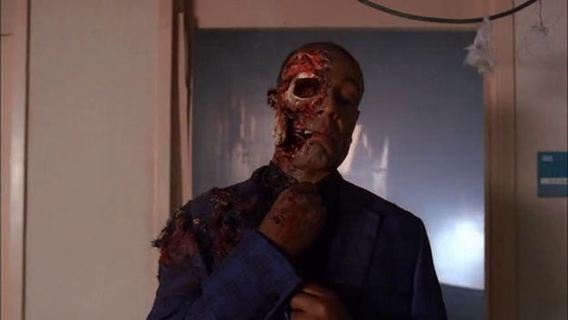 In what episode does Gus Die? [Breaking Bad]