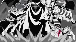Blackbeard's Crew vs Whitebeard