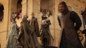 Ned Stark at Sept of Baelor