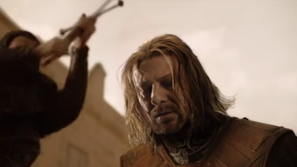 Ned Stark at before beheading