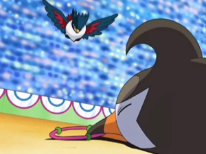 Staravia on the ground