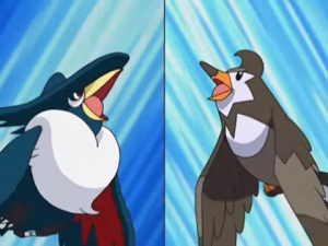Staravia vs Honchkrow