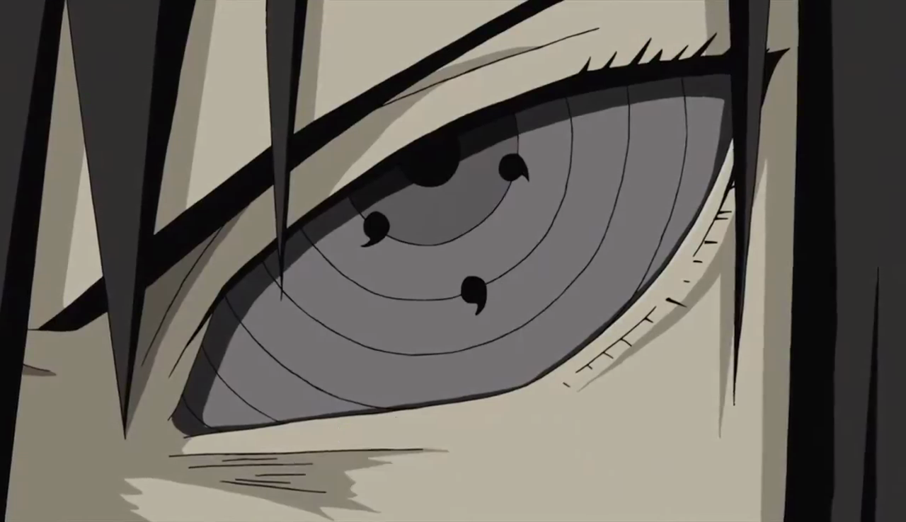 Sasuke Gets/Awakens the Rinnegan [Naruto Shippuden]