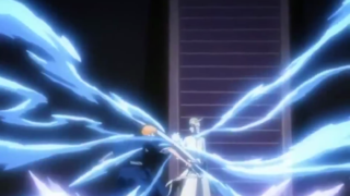 Ichigo fights Ulquiorra (Ichigo vs Ulquiorra) first fight [Bleach]
