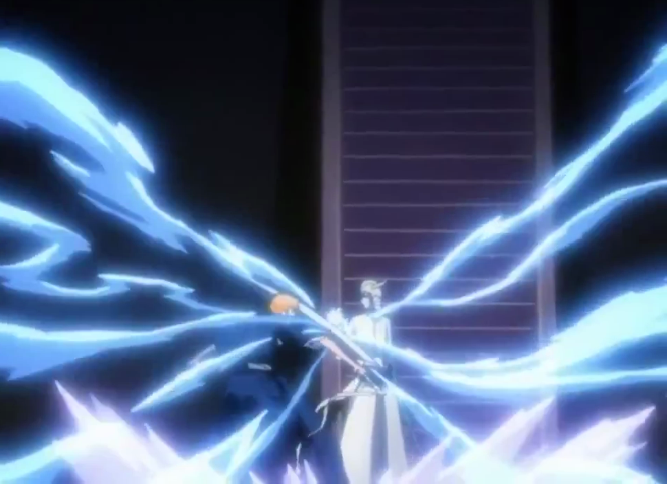 Ichigo and Ulquiorra clash