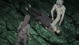 Sasuke being Saved