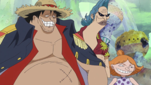 Fake Luffy and crew