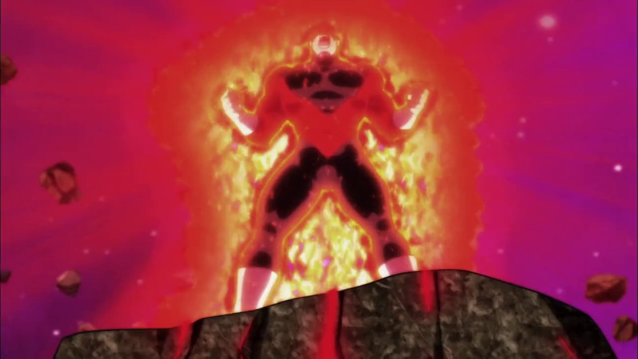 Jiren Powering up