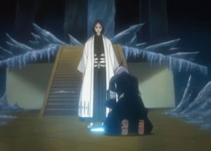 Captain Unohana and lieutenant Isane
