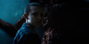 Eleven holding back monster