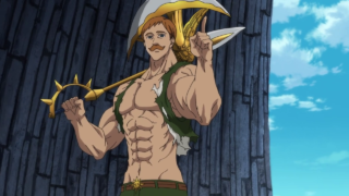 Escanor Fights Galand [The Seven Deadly Sins]