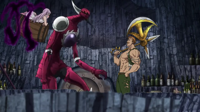 Escanor vs Galand