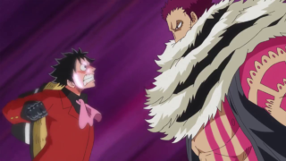 Katakuri fights Luffy [One Piece]