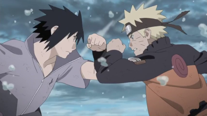 Naruto vs Sasuke - Final Battle (Final Valley) [Naruto Shippuden]