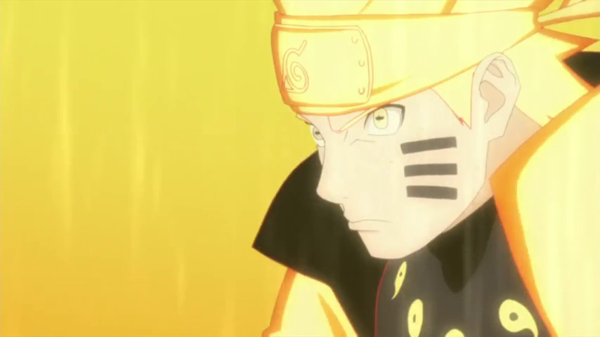 Naruto in Nine Tails Chakra