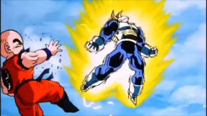Trunks Powring up