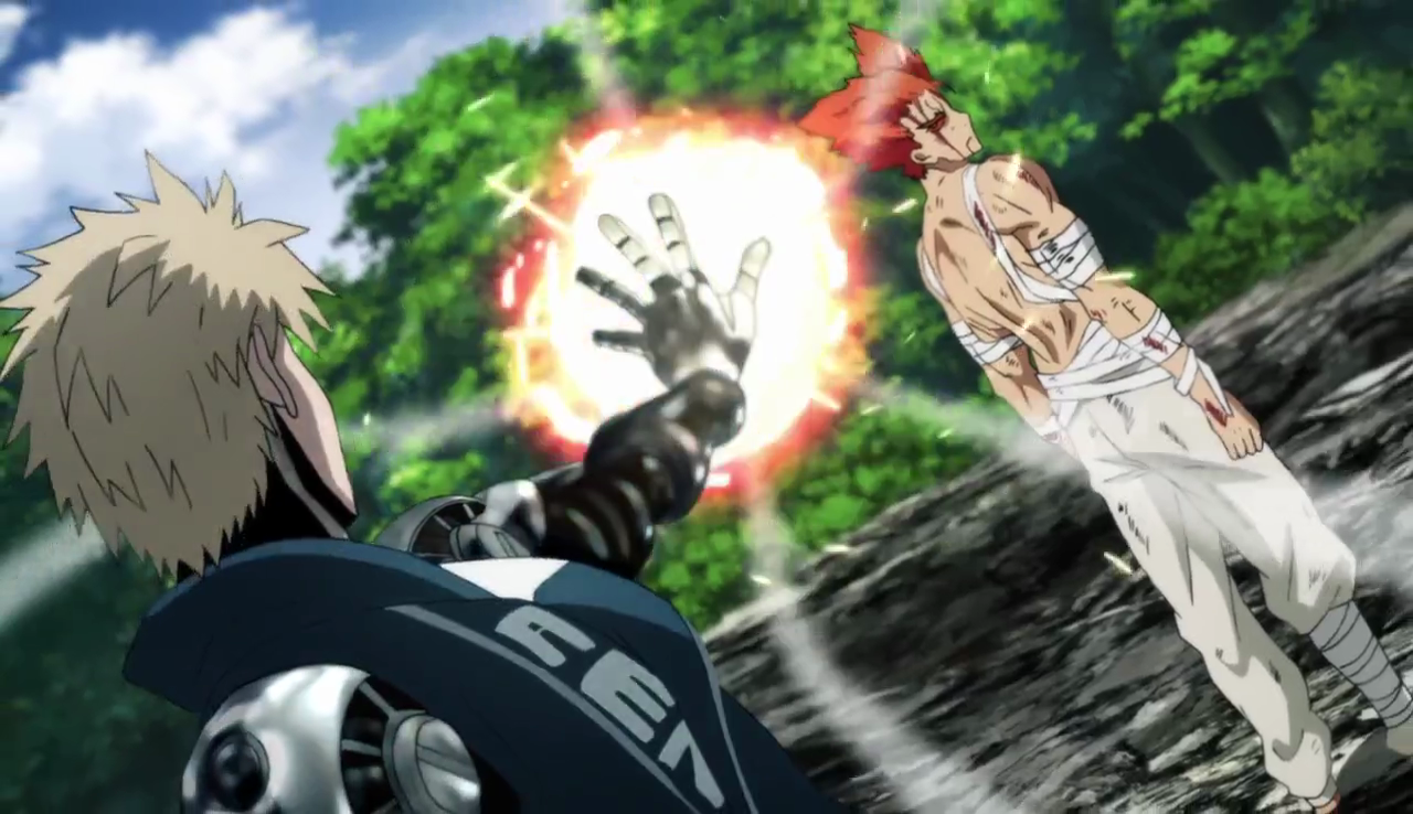Garou vs Genos [One-Punch Man]