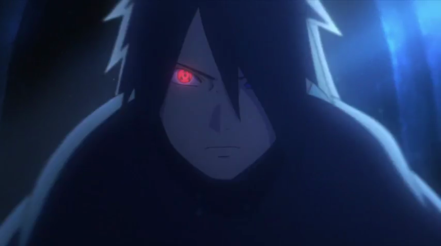 Sasuke Activating Sharingan