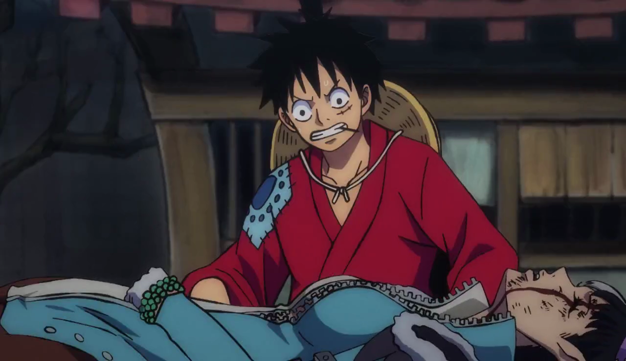 Luffy and Speed