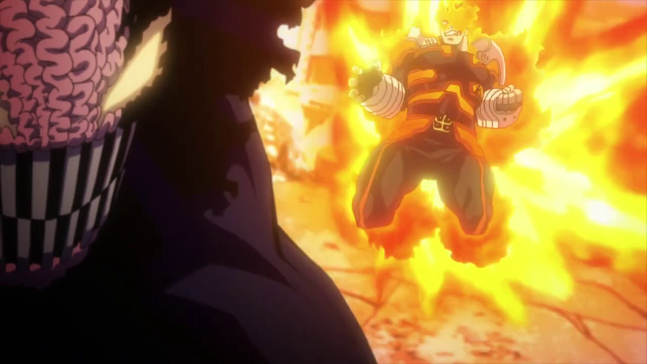 Endeavor vs High-End Nomu [My Hero Academia] | In What Episode?