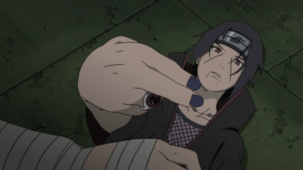 Itachi Pointing finger